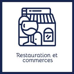 restauration et commerces